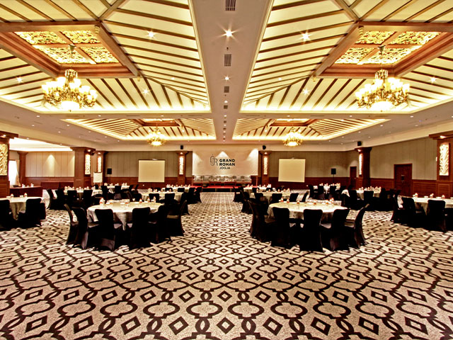 Ballroom Hotel in Jogja of Grand Rohan Jogja